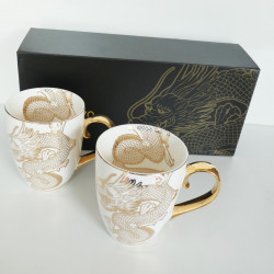 MUG 2 PZ NIPPON DRAGON GOLD...